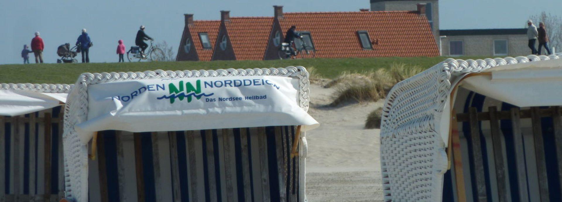 Sandstrand von Norddeich